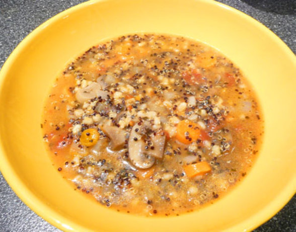 Mushroom And Quinoa Soup Recipe - Food.com