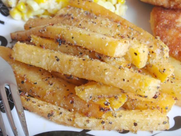Baked Rutabaga fries R...
