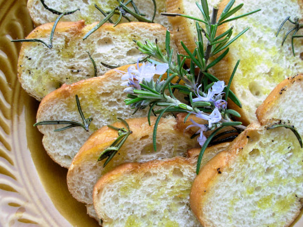 Rosemary Grilled Bread Recipe - Food.com