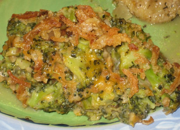 Campbells Delicious Broccoli Casserole Recipe Food Com