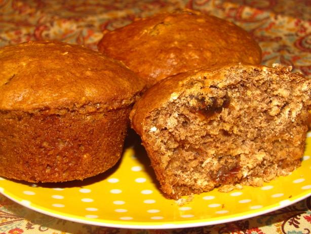 Healthy Oatmeal-Raisin-Cookie Muffins Recipe - Food.com