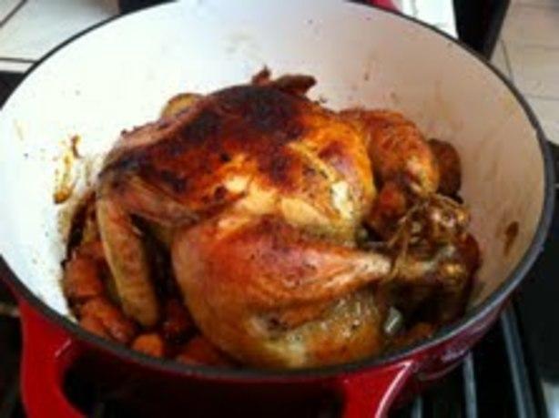 Julia Child's Roast Chicken