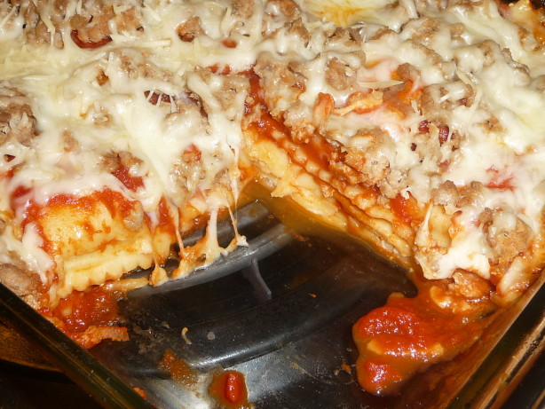 Do-Ahead Ravioli Turkey Lasagna Recipe - Food.com