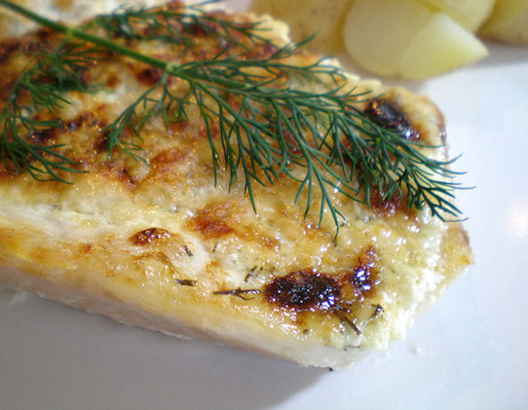Orange roughy with dill sauce recipe for Dill sauce for fish