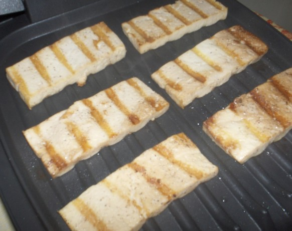 Easy-As-1-2-3 Versatile Grilled Tofu Chunks Or Sandwich Slices Recipe ...