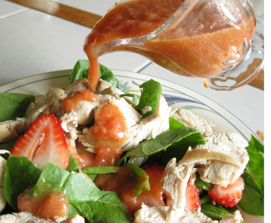Strawberry Spinach Salad With Chicken Breast Recipe - Food.com