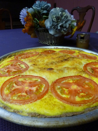 Corn Quiche In A Tef Crust Recipe - Food.com