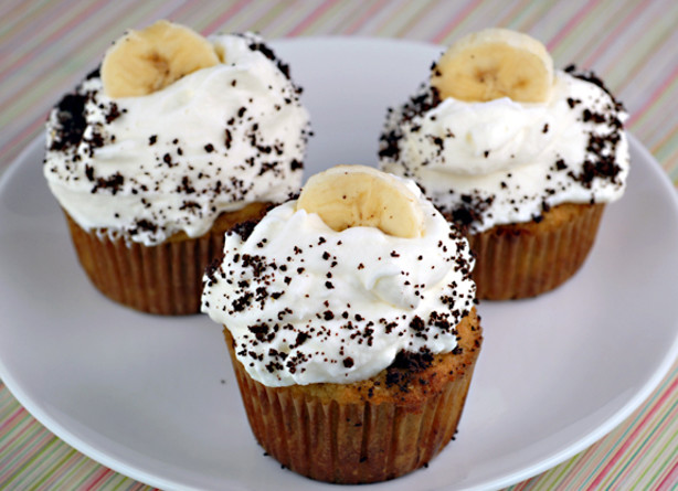 Banana Cream Pie Cupcakes Recipe - Food.com