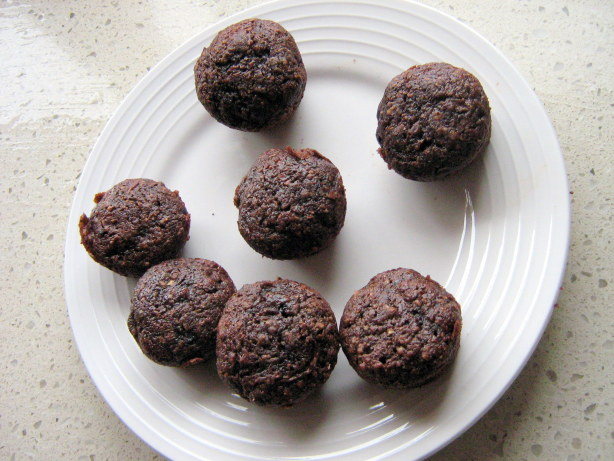 Whole Wheat Vegan Chocolate Zucchini Mini Muffins Recipe ...