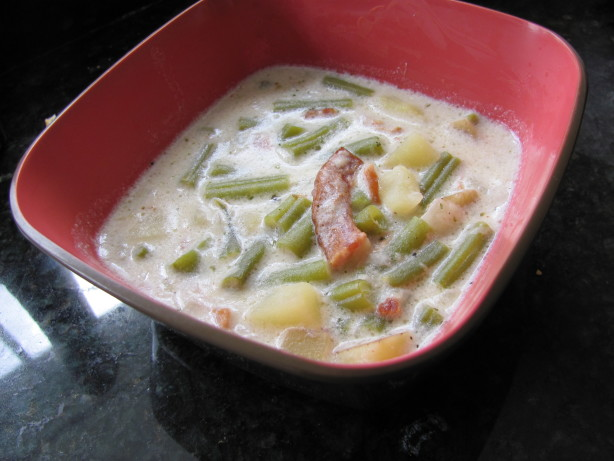 Green Bean Soup - Bouneschlupp Recipe - Food.com