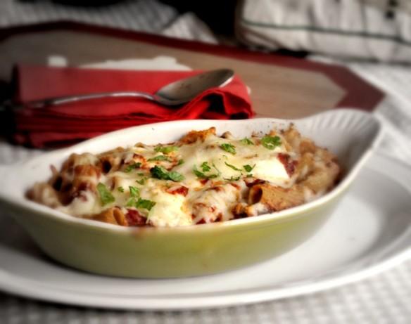 Baked Ziti With Mini Meatballs Recipe - Food.com