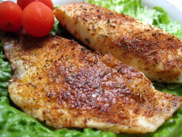 Seasoned Talapia Fillets Recipe Food Com