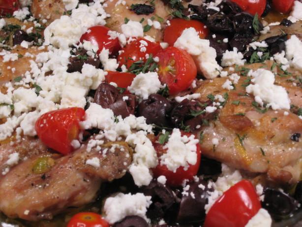 Greek Style Chicken Thighs Recipe - Greek.Food.com