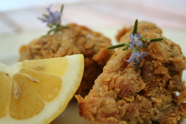 Rosemary-Scented, Extra-Crispy Fried Chicken Recipe - Food.com