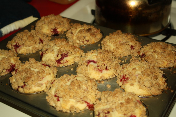Strawberry Shortcake Crumb Muffins Recipe - Food.com