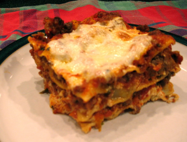 World s best lasagna