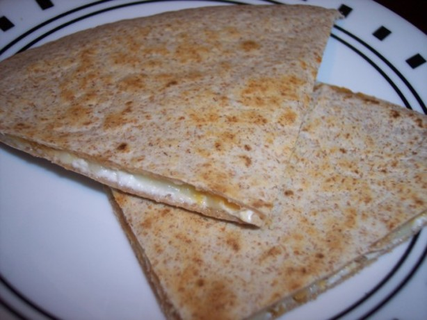 Creamy 3 Cheese Quesadillas Recipe - Food.com