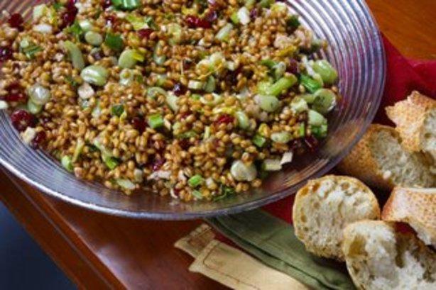 Blue Dog Bakerys Wheat Berry Salad Recipe - Food.com