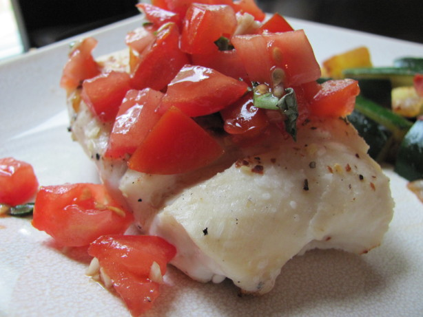 Grilled Halibut With Tomato-Basil Salsa Recipe - Food.com