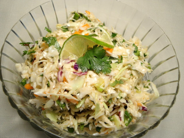 Spicy Mexican Slaw With Lime And Cilantro Recipes — Dishmaps