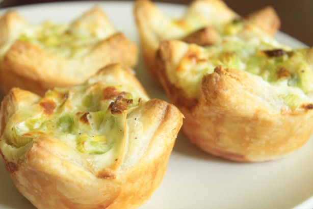 Mini Leek Tarts Recipe - Food.com