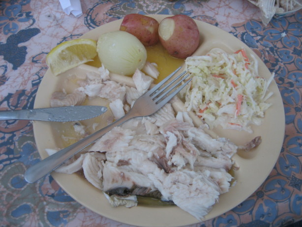Door county fish boil dinner at home recipe for Fish boil door county