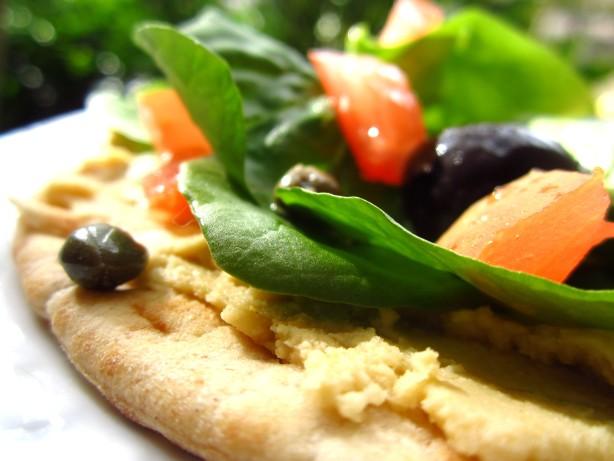 Hummus Pizza Recipe - Food.com