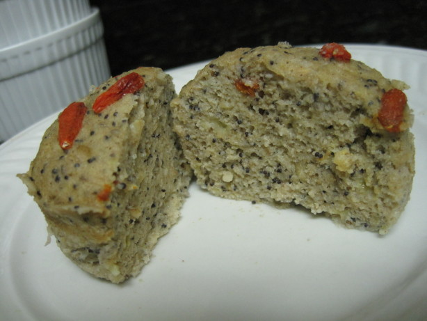Superfood Lemon Poppy Seed Muffin Gluten Free-Mmm) Recipe - Food.com