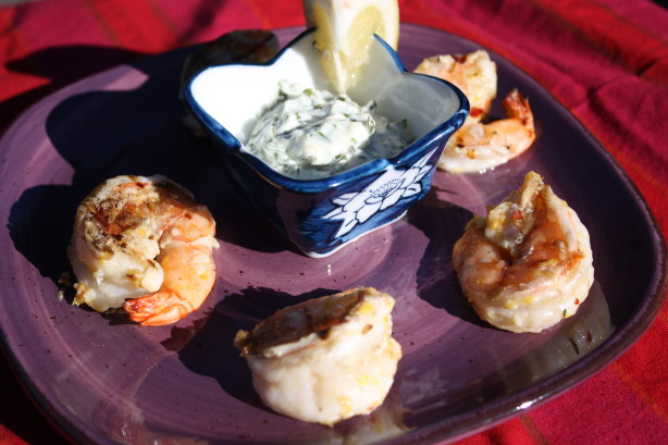 Spicy Lemon Shrimp With Basil Mayonnaise Recipe - Food.com