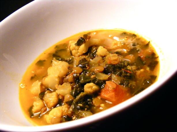Cauliflower Red Lentil And Ginger Soup Recipe - Food.com