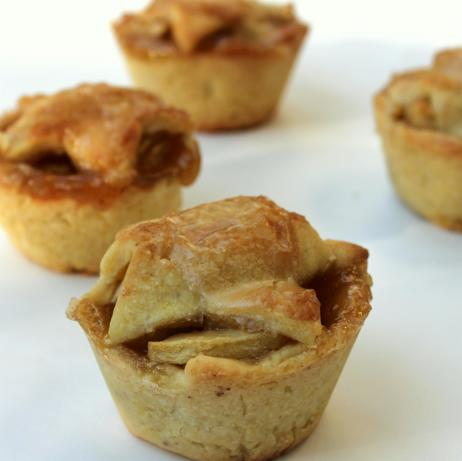 Brandy-Apple Mini Pies With Cornmeal Crust Recipe - Food.com