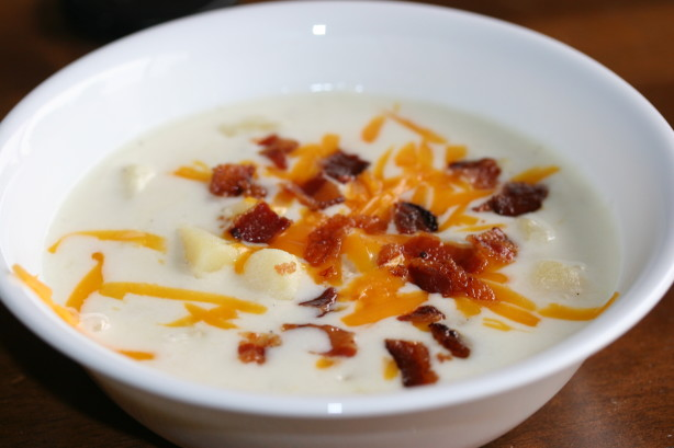 Cheesy Potato Soup Recipe - Food.com