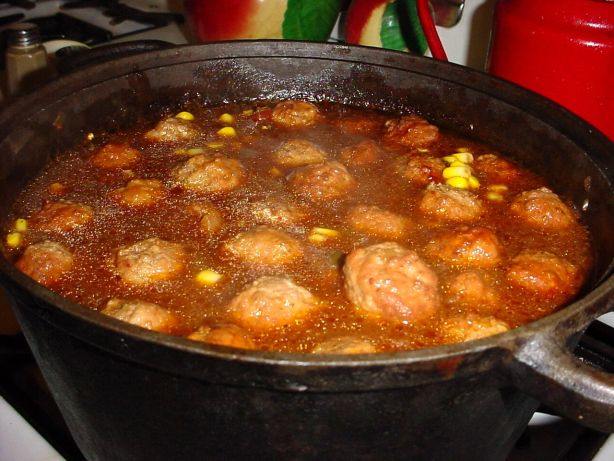 Magic Mexican Meatball Soup Recipe - Mexican.Food.com