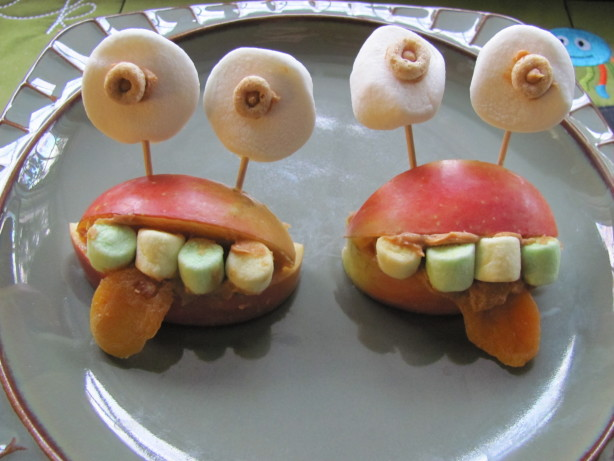 Edible monster mouths recipe for Fun halloween treats to make with toddlers