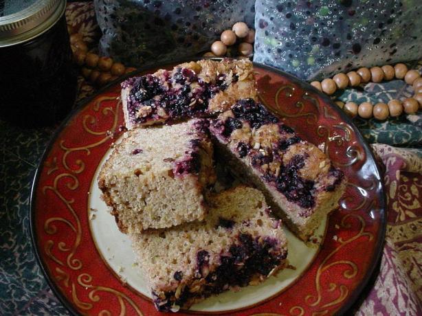 Maple Huckleberry Coffee Cake Recipe - Food.com