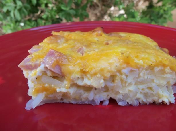 Low Fat Egg Casserole 5