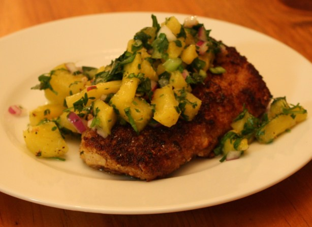 Macadamia And Coconut Crusted Mahi Mahi With Pineapple Salsa Recipe ...