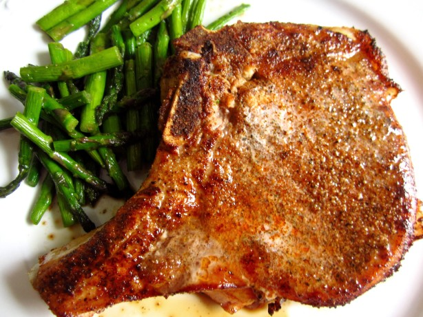 Pan Roasted Pork Chops Recipe