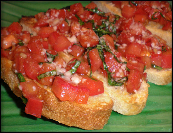 Tomato And Basil Bruschetta Recipe - Food.com
