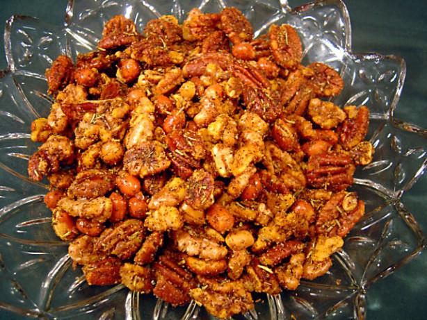 Savory Spiced Nuts Recipe - Food.com