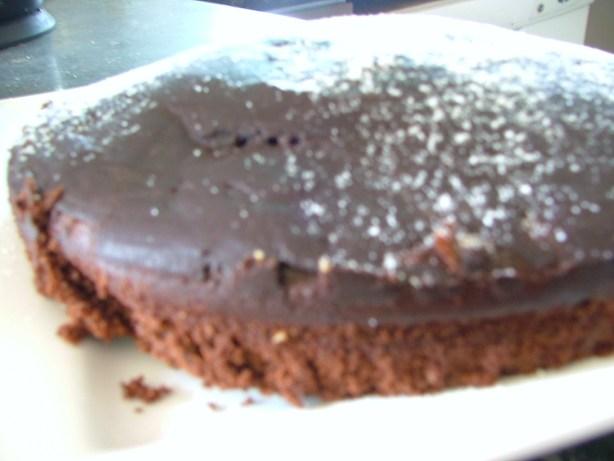 Destitute Gourmet Chocolate Cake