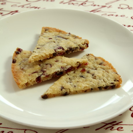 Orange Chocolate Cranberry Shortbread Recipe - Food.com