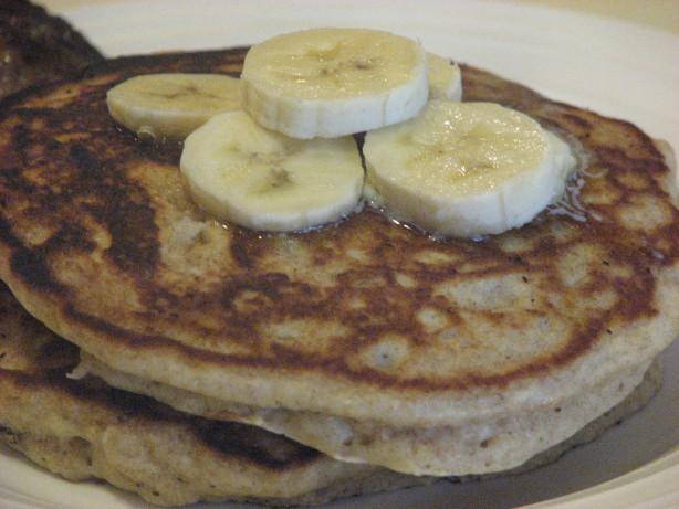 Whole Wheat, Oatmeal And Banana Pancakes Recipe - Food.com
