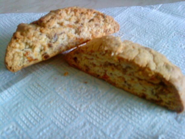 Apricot Biscotti Recipe — Dishmaps