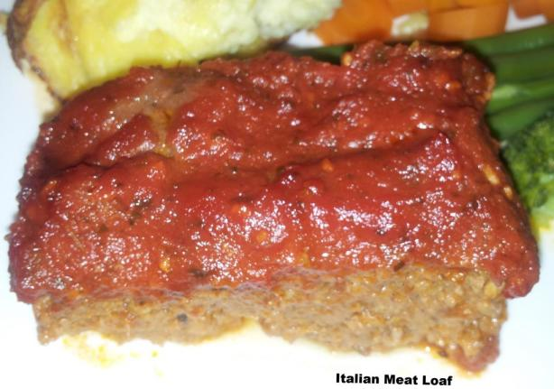 Italian Meat Loaf Recipe - Food.com