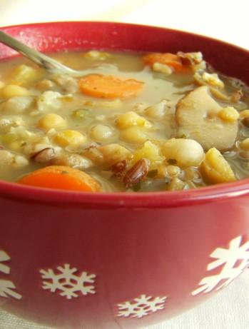 lentil soup with chickpea purée recipes dishmaps curried lentil soup ...