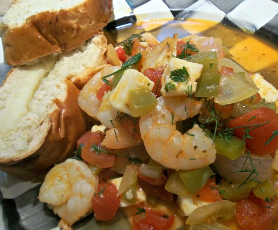 Greek-Style Shrimp With Tomatoes And Feta-Americas Test ...