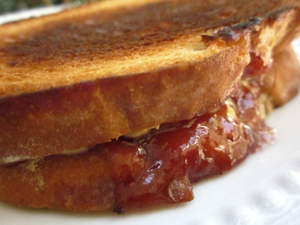 Grilled Peanut Butter And Jelly Sandwich Recipe - Food.com