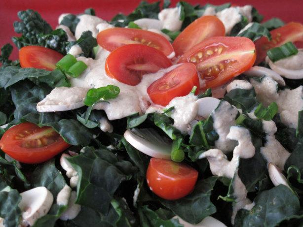 Calcium Rich Sesame Kale Salad Recipe - Food.com