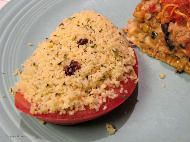 Herb Couscous Stuffed Tomatoes Recipe - Food.com